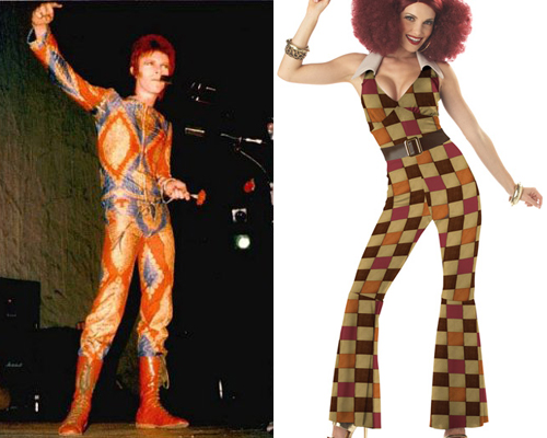 Remember Ziggy Stardust was a child of the 70s and it didnu0027t matter what planet he came from u2014 all jumpsuits from the 70s were ugly. & Sexy