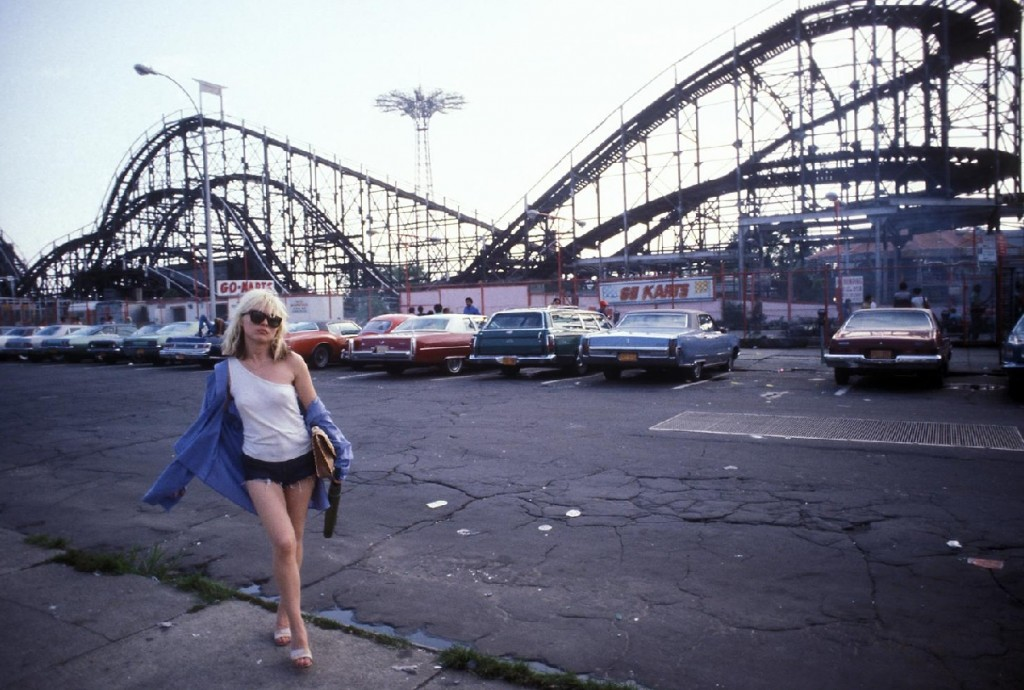 debby harry, debbie harry, coney island, blondie