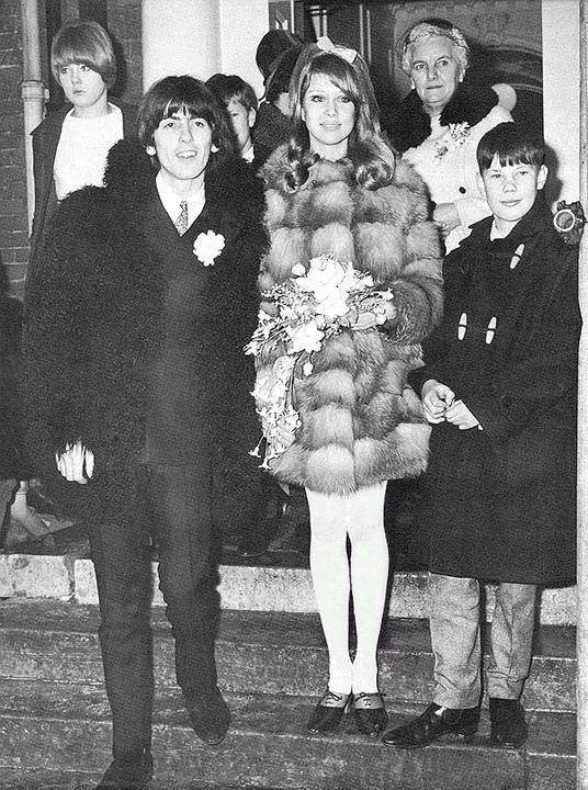 pattie boyd george harrison weddingGeorge Harrison And Pattie Boyd Wedding