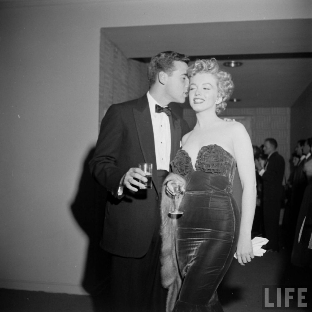 marilyn monroe at a party
