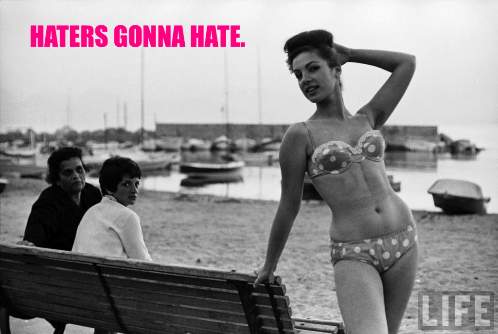 girl bikini vintage