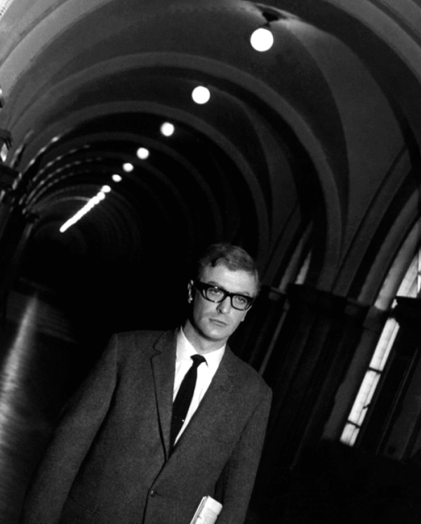 michael caine 60s fashion glasses