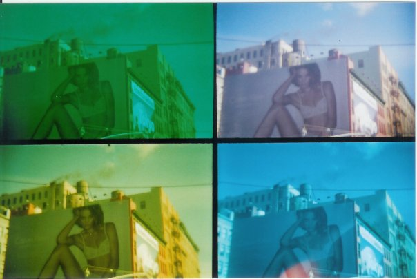 new york city pop art billboard ad underwear