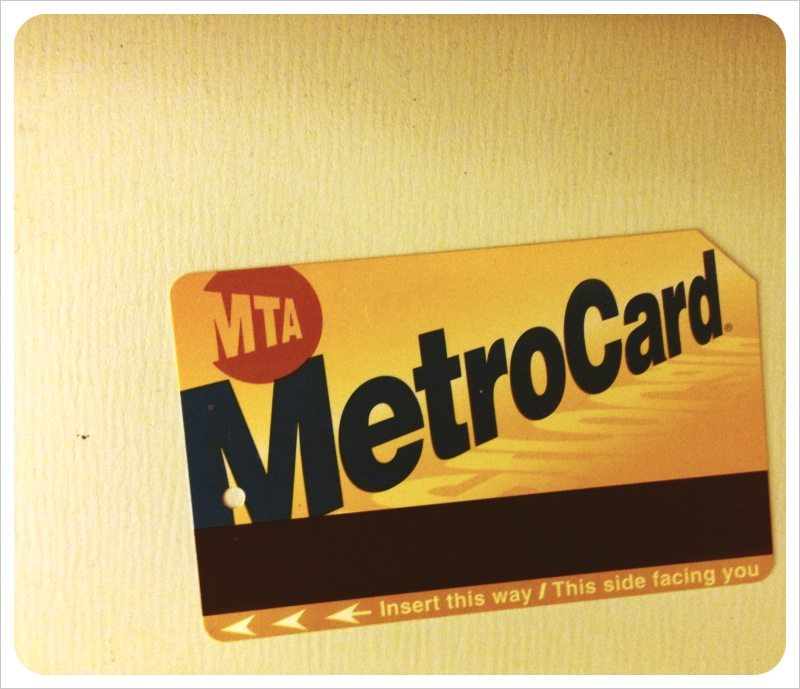 old nyc metrocard