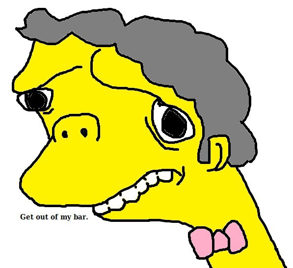 Simpsons pictures that I gone and done