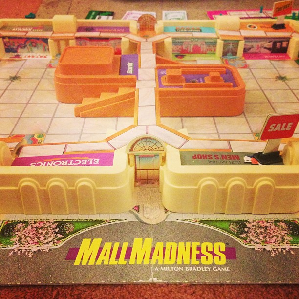 Mall Madness via Apocalypstick instagram