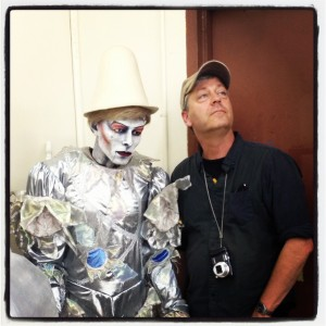 Just when I thought I couldn't get any more jealous, here's Craig with a giant David Bowie puppet.