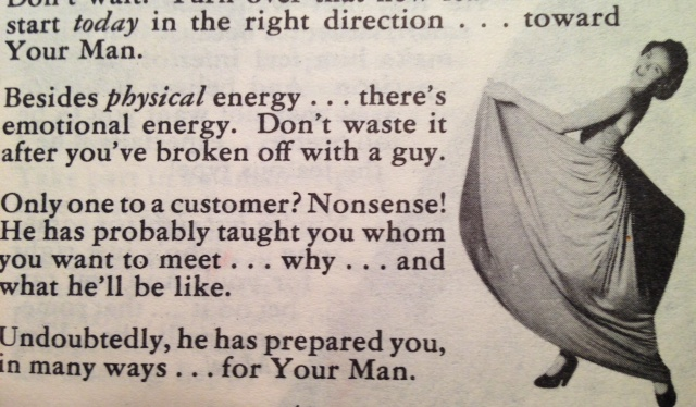 HOW TO FIND YOUR MAN 1950'S DATING ADVICE