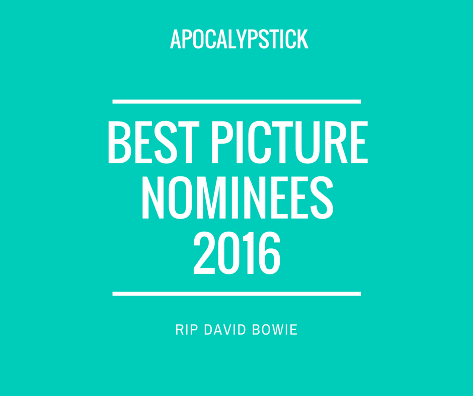 best picture nominees 2016
